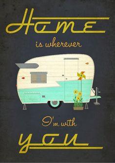 Shasta Camper love!  I love our little camper.