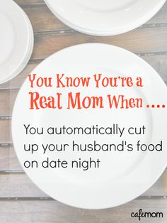 Repin if you've done the same thing! Haha! I frequently cut up hubbys food without thinking >.