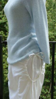 linen trousers side