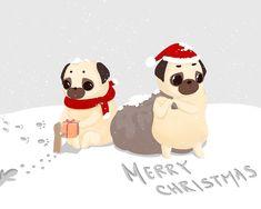 """米絲肉雞 ᎷYᎢᎻᎾᏞᎾᏩY on Instagram: """"2018.12.24 - 好像啥事沒做到又到了聖誕節 時間過得快的可怕 . 沒禮物可收只好用張圖安慰自己 . 聖誕快樂🎄🎅🎁 - #米絲肉雞 #肉雞 #米絲 #摳神帕古 #神話 #巴哥 #巴哥插圖 #聖誕快樂 #mythology #mythchicken…"""" Tiger Art, Merry Christmas, Snoopy, Teddy Bear, Toys, Fictional Characters, Animals, Merry Little Christmas, Animales"""