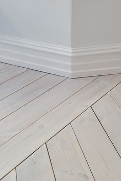 Lovely floors - play with change of direction in stead of chevron/herringbone