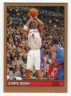 Chris Bosh # 160 - 2005-06 Topps Baz Basketball Gold