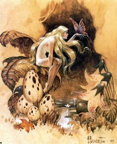 Spirit of the Forest by Frank Frazetta