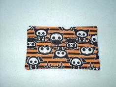 Handmade Fabric Tissue Holder   Halloween by DolphinBlue on Etsy, $1.00