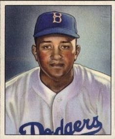 Don Newcombe 1950 Bowman rookie card