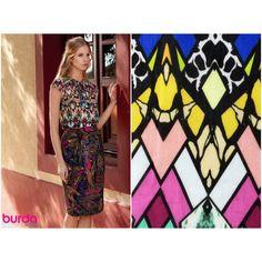 Kleiderstoff Burda Batist gemustert Chf, Style, Blouses, Scale Model, Swag