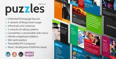 Puzzles - WordPress Magazine/Review with WooC  -  https://themekeeper.com/item/wordpress/blog-magazine/puzzles-wordpress-magazinereview-wooc