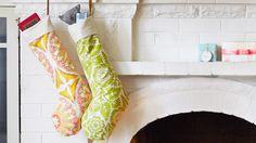 Sew Modern Christmas Stockings by Creativebug