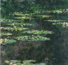 Ninfeas, Claude Monet (Ninfeas, 1904) IMPRESIONISMO