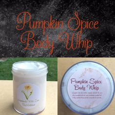 A personal favorite from my Etsy shop https://www.etsy.com/listing/476708125/pumpkin-spice-body-butter-organic-body