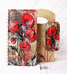 Handmade by Yulianna: Два набора Ирис и Маки