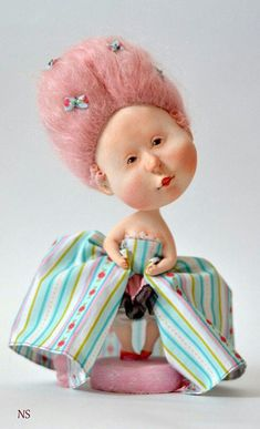 OOAK art doll Josephine