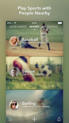 """""""What park ya'll playing basketball?"""" Sporty - play sports with people nearby - available in the iTunes store.  #apps 3sports #outdoors #soccer #baseball #biking #running #basketball"""