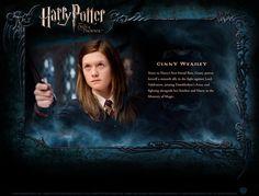 Ginny Weasley -- Character Profile