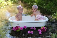 Identical Twins   R  R - 9 mos shared by www.twinsgiftcompany.co.uk