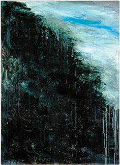 Landscape, 1986, Oil and acrylic on wood 175.7 x 128.1 cm Cy Twombly Foundation