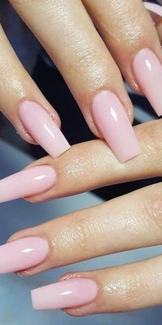 32 super cool pink nail designs every girl will love - light pink a . - Nails - 32 super cool pink nail designs every girl will love – light pink a … – nails – - Light Pink Acrylic Nails, Pink Toe Nails, Cute Acrylic Nails, My Nails, Nail Pink, Light Nails, Pink Acrylic Nail Designs, Light Pink Nail Polish, Light Pink Nail Designs