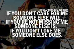 True.....someone i havnt met yet