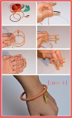 beautiful easy bracelet =)