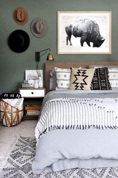 Rustic master bedroom farmhouse style remodel ideas (31)