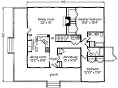 "Small House Plan, Wrap Around Porch: ""Inlet Retreat,""  is an exclusive design for Coastal Living by Allison Ramsey Architects. A charming one and a half story  confection,  it  encompasses  2,188  square feet and includes three bedrooms and a loft, three full baths, and a den or study.    Once again, a large wraparound porch affords spectacular views of the surrounding  land or waterscape!"