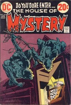 House of Mystery #213. Cover by Bernie Wrightson.   #House of Mystery #BernieWrightson
