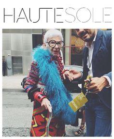 ➖HAUTESOLE LIVE @NYFW➖ HAUTESOLE FAVORITE FASHION ICON IRIS  APFEL  ✨✨✨✨✨✨✨✨✨✨✨✨✨✨✨ #HAUTESOLE #Fashion #Footwear #Shoes #style #stylish #sneakers #design #Stylist #instagood #designer #Fashiondesigner #FashionStylist #WardrobeStylist #CelebrityWardrobeStylist #Fashionista #StreetStyle #FashionWeek #PFW #NYFW #luxury #fashionista #fashionblogger #magazine #DREAMFEARLESSLY #SS16 #NYFW2015 #newyorkfashionweek #irisapfel