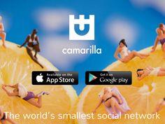 登録できる友達は15名まで世界最小のソーシャルメディアCamarillaが誕生