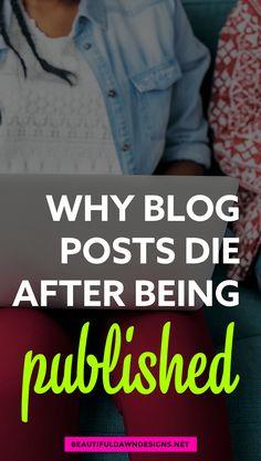 Por que ninguém está lendo suas postagens de blog