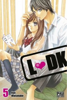 L-DK, tome 5 Ldk Manga, L Dk, New Neighbors, Manga Covers, High School Girls, If I Stay, I Love Anime, Shoujo, Book Recommendations