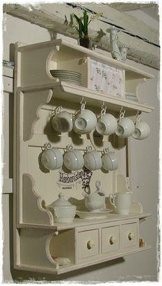 Kitchen Wall Cabinets, Kitchen Cabinet Styles, Kitchen Shelves, Kitchen Decor, Furniture Decor, Painted Furniture, Kitchen Cabinet Inspiration, Wall Shelving Units, Wall Boxes