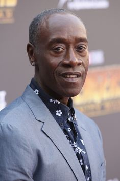 """""""Don Cheadle attends the Los Angeles Global Premiere for Marvel Studios' Avengers: Infinity War on April 2018 in Hollywood, California. African American Actors, Famous African Americans, American History, Ebony Magazine Cover, Fine Black Men, Vintage Black Glamour, Black Is Beautiful, Beautiful People, Black Celebrities"""