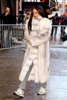 Rihanna's New Balance fashion