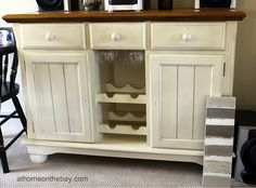 Decorating On A Budget Thrift Store Dresser Used As Dining Room