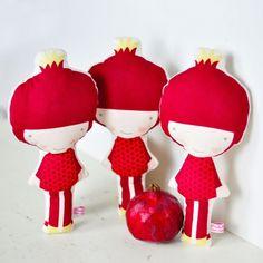 Popje Pomegranate Doll