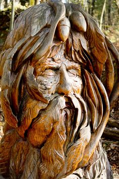 Green Man by fatedsnowfox, via Flickr