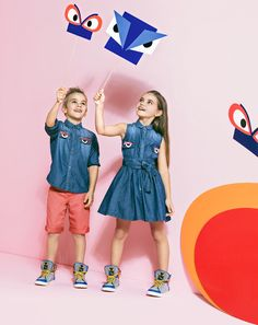 The Fendi Kids spring/summer 2015 ad campaign manages to encapsulate everything we love about Fendi and children's wear.