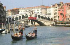Rialto Bridge; Venice, Italy.