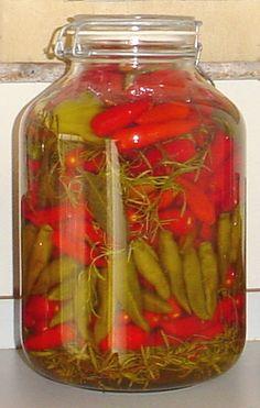 Receita de Pimenta em conserva | Flickr - Photo Sharing!