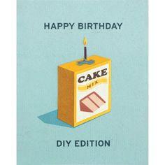 DIY Edition Birthday Card by Good Paper