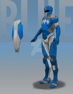 Blue Ranger 2 by StevieJIllustration on DeviantArt