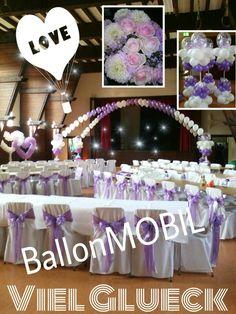 Saal Deko Hochzeit