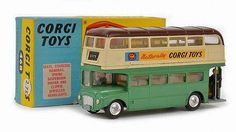 Corgi Toys Routemaster Bus Produced exclusively and exported for distribution within the Australian market only.