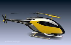 HELYOS - Urban helicopter Concept on Behance