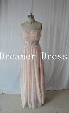 Bridesmaid Dress, Long Prom Dresss,Chiffon Evening Dress ,Prom Dress,New Arrival Floor Length Bridesmaid Dress