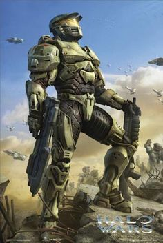 Halo - huge part of my childhood. Definitely counts as science fiction. Far into the future, at war with an alien race? Halo Birthday Parties, Birthday Ideas, Odst Halo, Halo Party, John 117, Halo Game, Halo 5, Halo Armor, Halo Master Chief