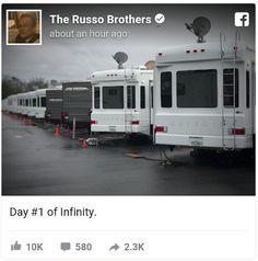 Avengers Infinity War started shooting! #AvengersInfinityWar #Marvel #comics #avengers