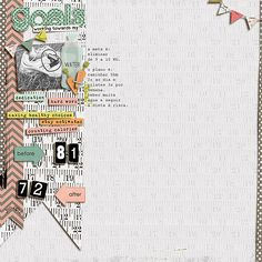 Here's a gorgeous layout from Amanda - I love the word strips throughout and the heavily left-weighted composition. Take a closer look!