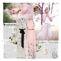 """Kimono & maxidress"" by helena99 ❤ liked on Polyvore featuring Carine Gilson, Topshop, STELLA McCARTNEY, maxidress and kimono"