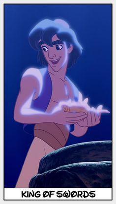 King of Swords - Disney Tarot